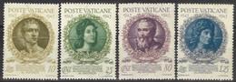 VATICANO 1944 - Accademia Dei Virtuosi  - 4 Val. Nuovi**  (1068) - Ungebraucht