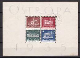 Deutsches Reich - 1935 - Michel Nr. Block 3 - Gestempelt - 1100 Euro - Used Stamps
