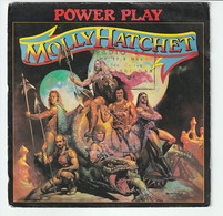 SP 45 TOURS MOLLY HATCHET POWER PLAY 1981 EPIC A-1985 - Rock