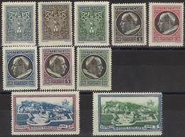 VATICANO 1945 - Medaglioncini - 10 Val. Nuovi**  (1067) - Ungebraucht