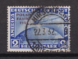 Deutsches Reich - 1931 - Flugpost - Michel Nr. 457 - Gestempelt - 260 Euro - Used Stamps