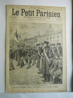 LE PETIT PARISIEN N°362 - 12 JANVIER 1896 - 200° REGIMENT SOLDAT HOTEL DE VILLE - 1850 - 1899