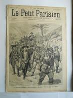 LE PETIT PARISIEN N°363 - 19 JANVIER 1896 - ANGLAIS ET BOERS FLIBUSTIER JAMESON A PETRORIA - ABYSSINS CONTRE ITALIENS - 1850 - 1899
