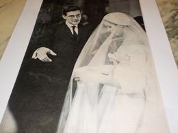 PHOTO  YVES SAINT LAURENT 1958 - Unclassified