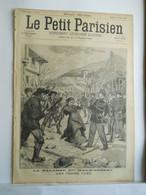 LE PETIT PARISIEN N°364 - 26 JANVIER 1896 - BAGARRE DU MAS-DARGNAT - PATINAGE ENFANTS SOUS LA GLACE - 1850 - 1899