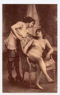 Photogravure. Femmes Style Art Déco. Seins Nus. Lingerie Fine. Bas. érotique. Erotic. Nude  ( Reproduction ) - Reproductions