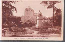 Toulon - Jardin De La Ville, Statue De Puget - Toulon