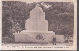 Toulon - Le Monument Aux Morts (1914-1918) - Toulon