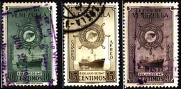 Venezuela 1948 Mi 516-518 Grand Colombian Merchant Fleet - Venezuela