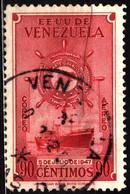 Venezuela 1949 Mi 525 Grand Colombian Merchant Fleet - Venezuela