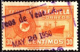 Venezuela 1950 Mi 510 Grand Colombian Merchant Fleet - Venezuela