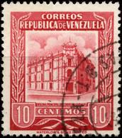 Venezuela 1953 Mi 941 Main Post Office Caracas - Venezuela