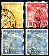 Venezuela 1958 Mi 1088_1098 Main Post Office - Venezuela