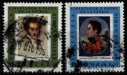 Venezuela 1966 Mi 1685, 1692 Simon Bolivar - Venezuela