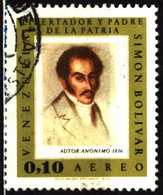 Venezuela 1967 Mi 1717 Simon Bolivar On Paintings - Venezuela