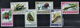 Venezuela 1968 Mi 1740-1745 Insects - MNH - Venezuela