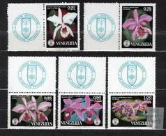 Venezuela 1971 Mi 1879-1883 Orchids Of 1971 - MNH - Venezuela
