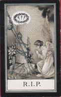 Philothea Van Schaeybroeck Messelbroek Arma Christi Lithographie Silverprint Bidprentje Doodsprentje Image Mortuaire - Devotion Images