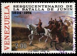 Venezuela 1974 Mi 1987 Bolivar At Battle Of Junin (1) - Venezuela