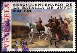 Venezuela 1974 Mi 1987 Bolivar At Battle Of Junin (2) - Venezuela