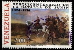 Venezuela 1974 Mi 1987 Bolivar At Battle Of Junin (3) - Venezuela