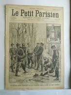 LE PETIT PARISIEN N°365 - 2 FEVRIER 1896 - FACTEUR - PRUSSIENS FORET DE SAINT-GERMAIN - ABRIS CHAUFFOIRS PARIS - 1850 - 1899