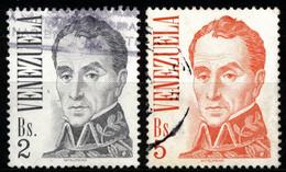 Venezuela 1976 Mi 2032, 2035 Simón Bolívar - Venezuela