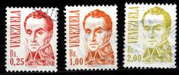 Venezuela 1986 Mi 2381, 2384-85 Simón Bolívar - Venezuela