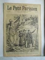 LE PETIT PARISIEN N°366 - 9 FEVRIER 1896 - CONSCRIT D'ALSACE LORRAINE - ASSAUT DE MAKALLE PAR LES CHOANS - 1850 - 1899