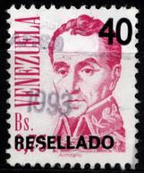Venezuela 1991 Mi 2704 Simón Bolívar Resellado - Venezuela