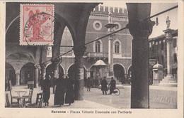 067 - Italia Italy - Ravenna - Piazza Vittorio Emanuele - Ed. Salbaroli - Animation - VG Condition - 2 Scans - Ravenna