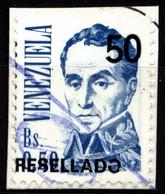 Venezuela 1991 Mi 2705 Simón Bolívar Resellado - Venezuela