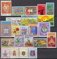 ALGERIEN Jahrgang 1974, Postfrisch **, 619-640, Komplett - Algeria (1962-...)