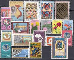 ALGERIEN Jahrgang 1973, Postfrisch **, 599-618, Komplett - Algeria (1962-...)