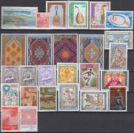 ALGERIEN Jahrgang 1968, Postfrisch **, 491-516, Komplett - Algérie (1962-...)