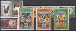 ALGERIEN  Jahrgang 1965, Postfrisch **, 435-443, Komplett - Algérie (1962-...)