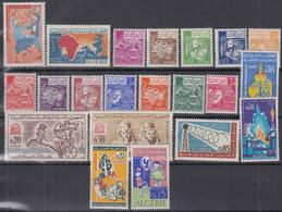 ALGERIEN  Jahrgang 1964, Postfrisch **, 414-434, Komplett - Algérie (1962-...)