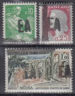 ALGERIEN  378-379, 382, Postfrisch **, Handstempelaufdruck 1962 - Algérie (1962-...)