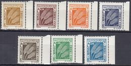 ALGERIEN  Porto 65-71, Postfrisch **, Weizenähren 1972 - Algérie (1962-...)