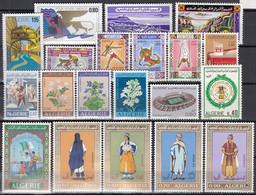 ALGERIEN Jahrgang 1972, Postfrisch **, 579-598, Komplett - Algeria (1962-...)