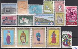 ALGERIEN Jahrgang 1971, Postfrisch **, 564-578, Komplett - Algérie (1962-...)