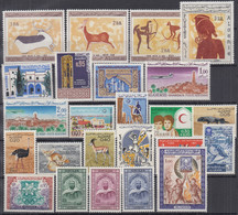 ALGERIEN Jahrgang 1967, Postfrisch **, 467-490, Komplett - Algérie (1962-...)