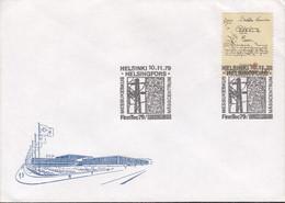 FINNLAND 842, Auf Sonderumschlag Mit Sonderstempel: Helsinki FINNTEC '79, 10.11.1979 - Covers & Documents
