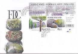 FINNLAND  Block 35, FDC, UNESCO-Welterbe, 2004 - FDC