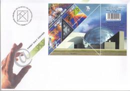 FINNLAND  Block 24, FDC, Wissenschaft, 2000, Mit Hologramm - FDC