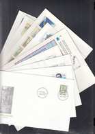 FINNLAND  1035-1036, 1048,, 1051-1057, 1059-1067, 9  FDC, Aus 1988 - FDC