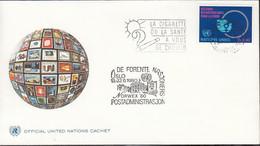 UNO GENF 89, Gestempelt Mit Nebenstempel: Oslo NORWEX '80 - Covers & Documents