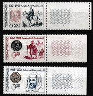 MAROC 1962 Y&T N° 450 à 452 N** Bord De Feuille - Morocco (1956-...)