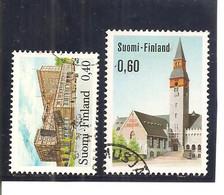Finlandia-Finland Nº Yvert  683-84 (usado) (o) - Used Stamps