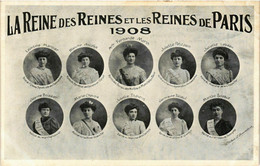 CPA PARIS MI-CAREME 1908 Reine Des Reines Et Les Reines (576544) - Andere